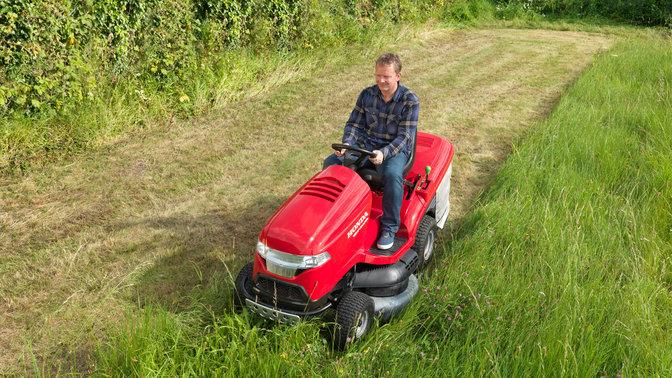 riding mower